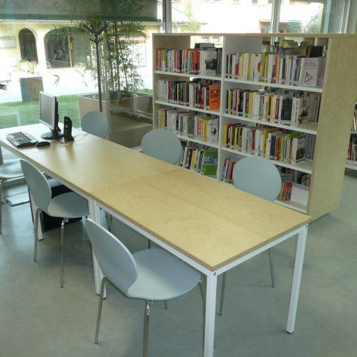 Albinea - tavolo di lettura