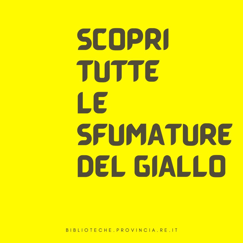 Letture Estive_Scopri tutte le sfumature del giallo