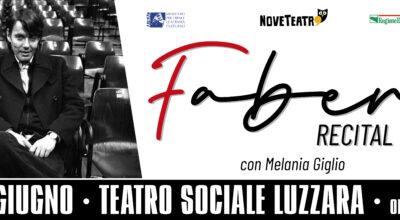 FABER – Recital con Melania Giglio | sabato 26 giugno