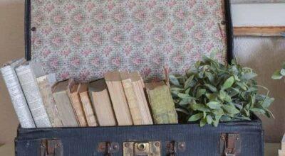 Come riempire una valigia di libri?