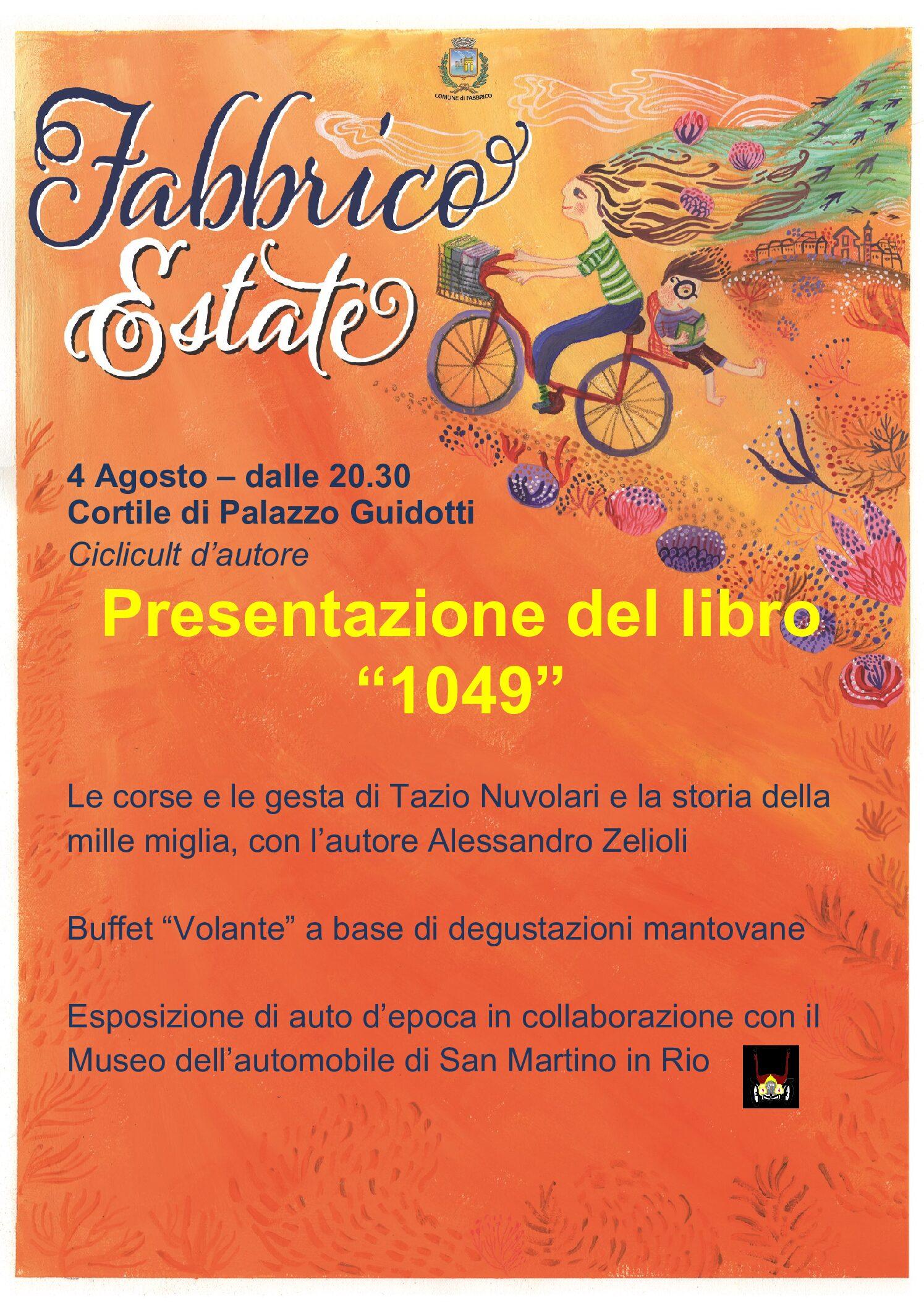 """Presentazione del libro """"1049"""" di Eugenio Pattacini e Alessando Zelioli"""