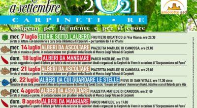 Appuntamenti estivi Biblioteca di Carpineti