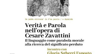09.10.2021 | Verità e Parola nell'opera di Cesare Zavattini